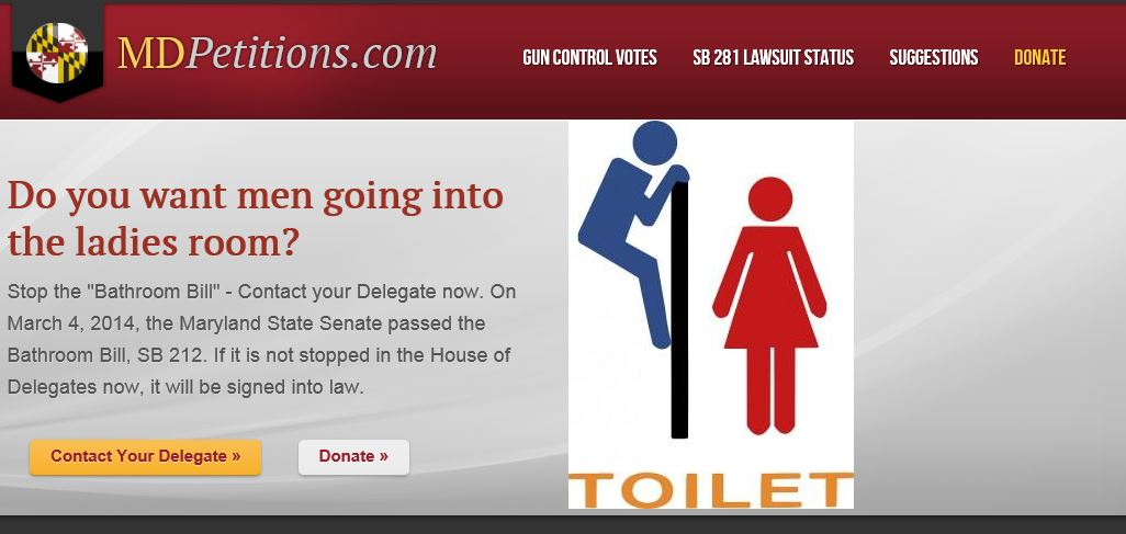 MD Petitions - Bathroom Graphic