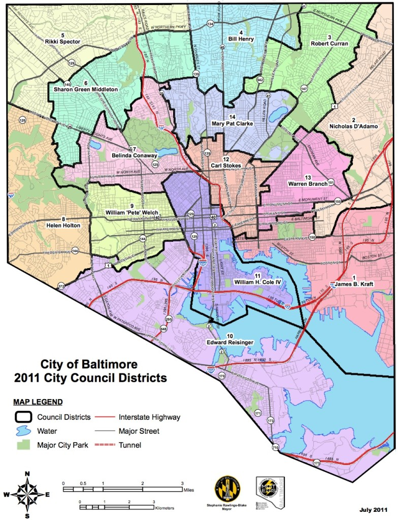 BaltCity Districts