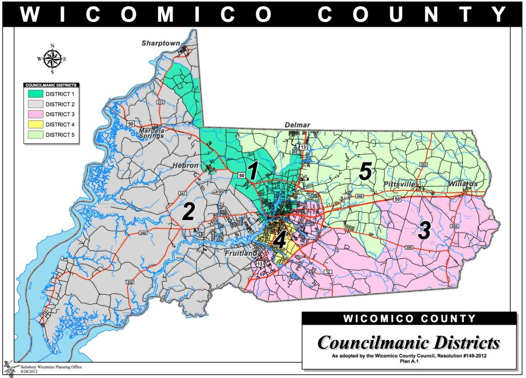 Wicomico Districts