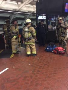 firemen in metro