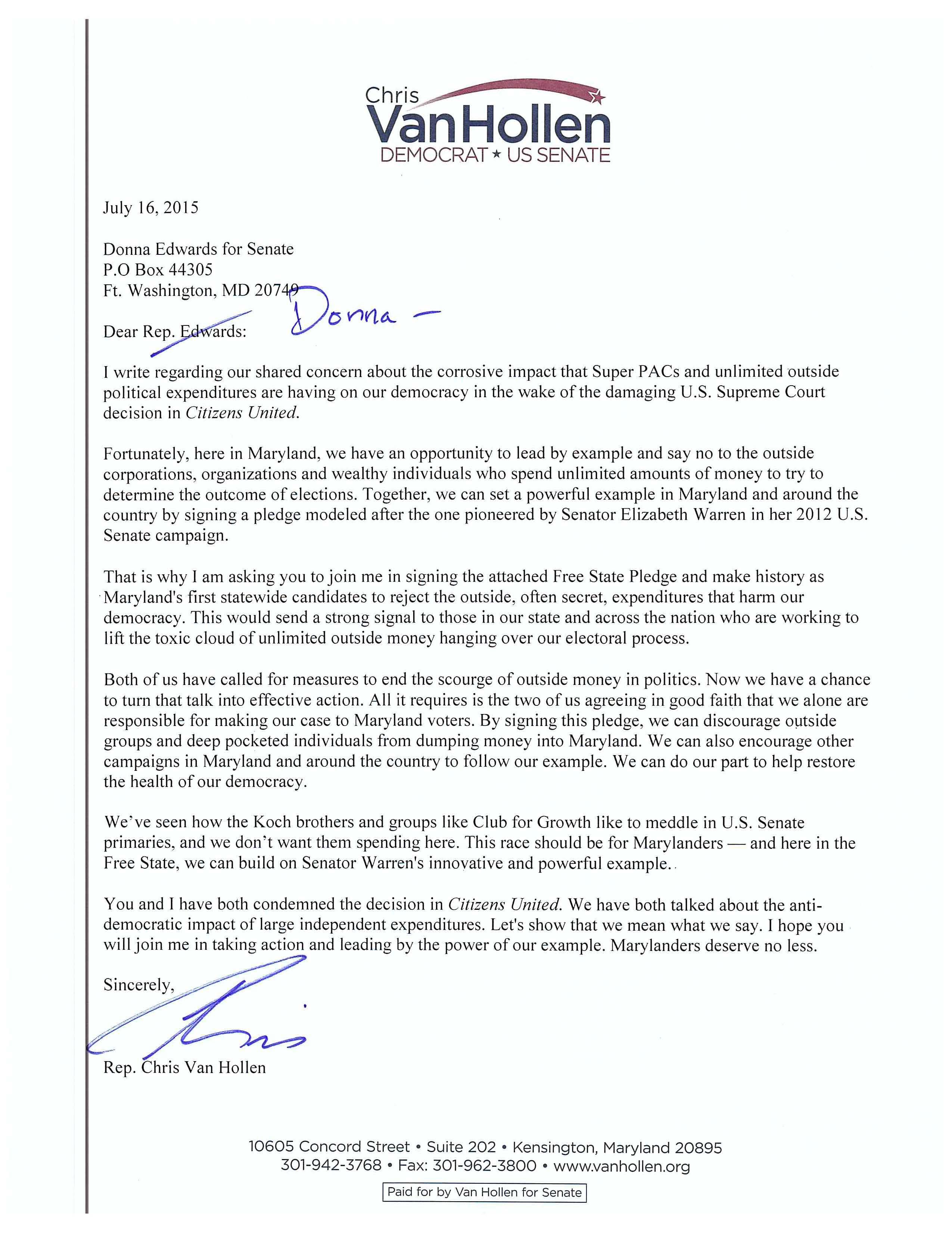 VH Letter