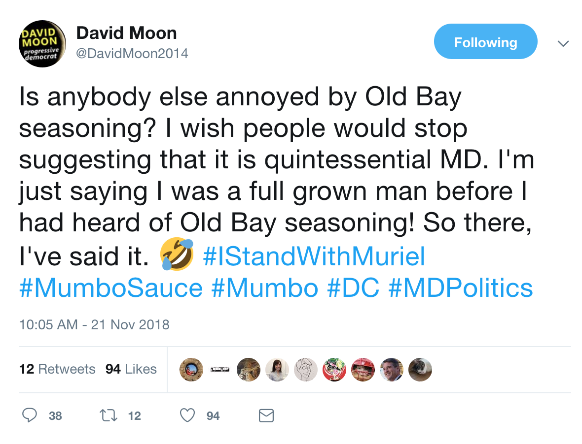 Seventh State Maryland Politics Watch November 2014 Line Circuit Blog We Joke About Lots Of Things In Crab Cakes And Old Bay Arent Among Them I Wont Even Eat Outside The